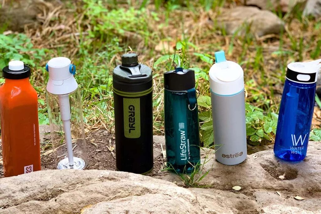 Best Filtering Water Bottle - Personal water filter bottle